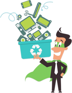 廢電器電子環保回收及機密數據安全銷毀一站式處理