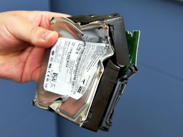 硬碟數據銷毀 最快的方法